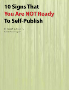 Self publish ebook