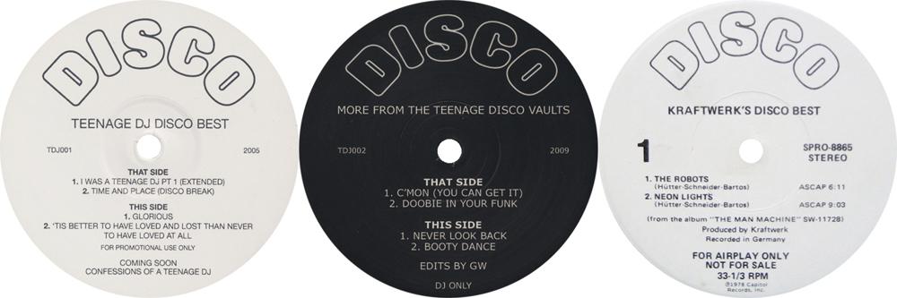 TEENAGE DJ EP's & KRAFTWERK'S DISCO BEST