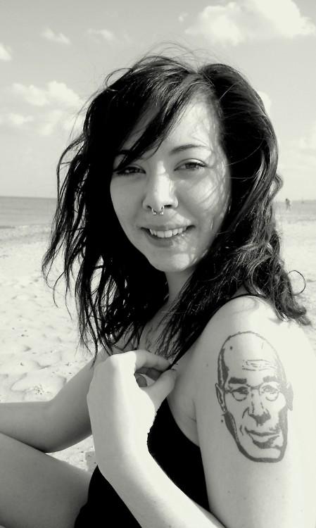 Henry Miller tattoo