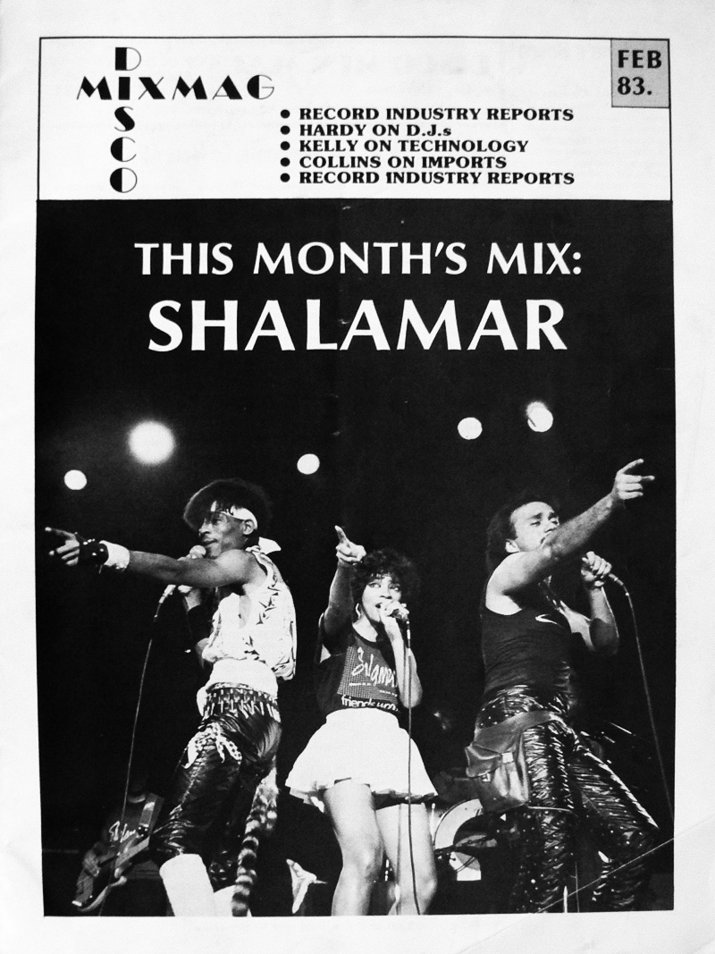 Disco Mix Mag Issue 1 Front Cover - Feb 1983