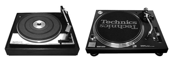 From Garrard to Technics
