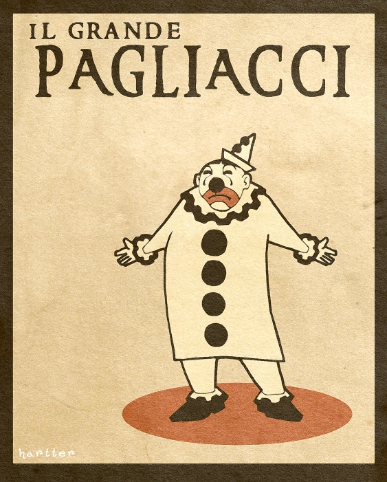 Pagliacci by Hartter