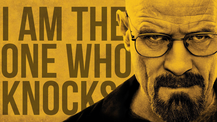 Heisenberg 'I Am The One Who Knocks'