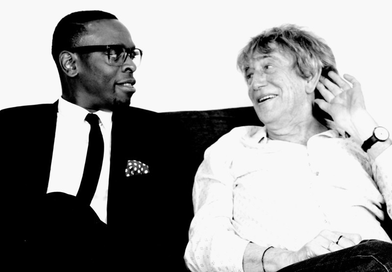 Kermit Leveridge & Howard Marks photo by Elspeth