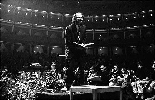 Allen Ginsberg Albert Hall 1965