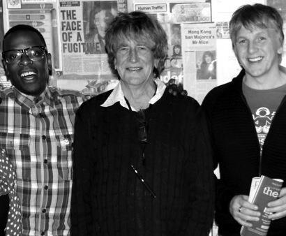 KERMIT LEVERIDGE, HOWARD MARKS & GREG WILSON - PHOTO BY ELSPETH MOORE