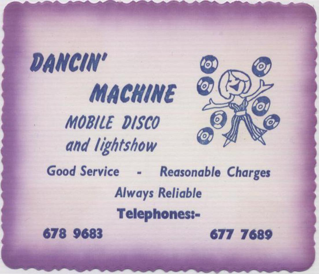 Dancin' Machine Mobile Disco