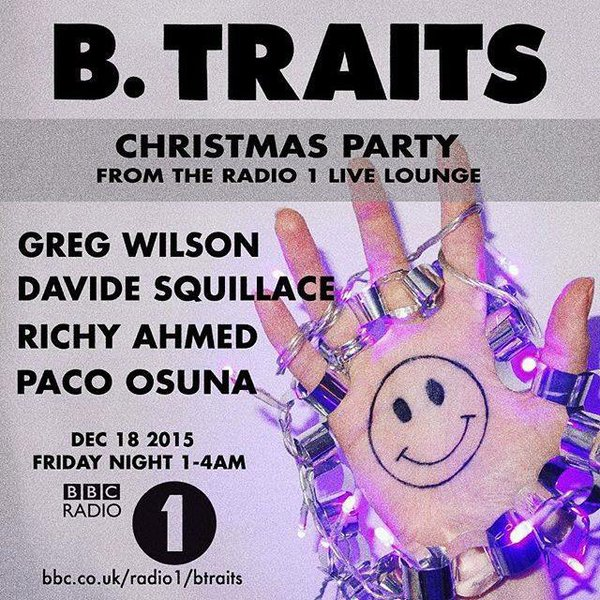 B. Traits Radio 1 Christmas Party