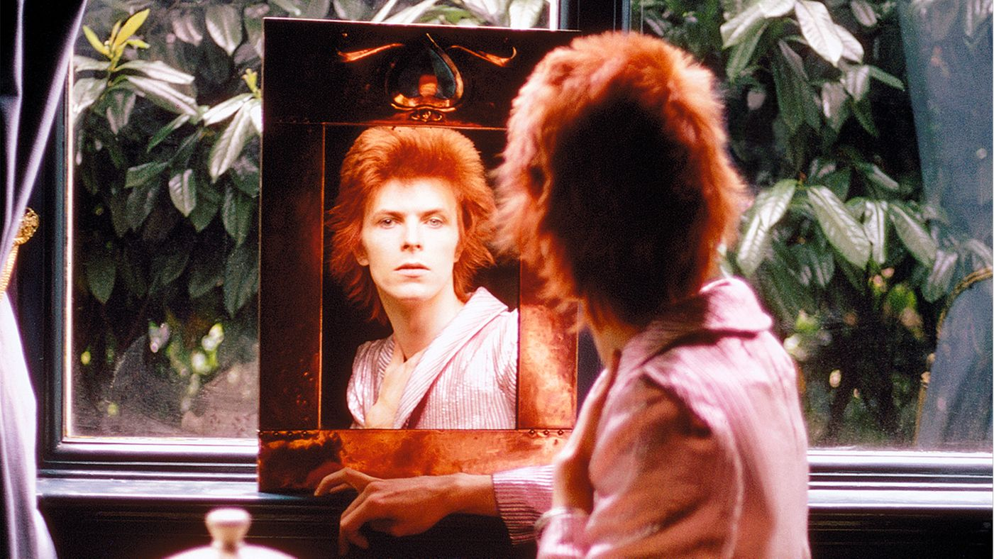 Bowie through the looking glass by Mick Rock