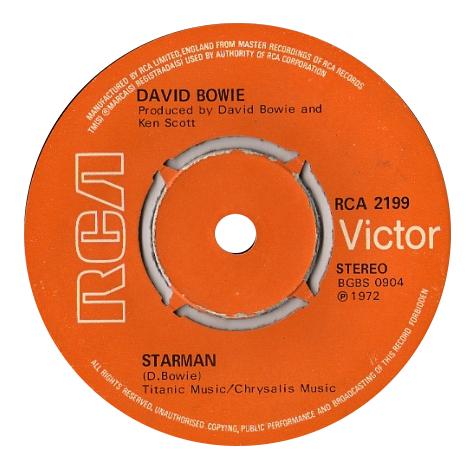 David Bowie 'Starman'