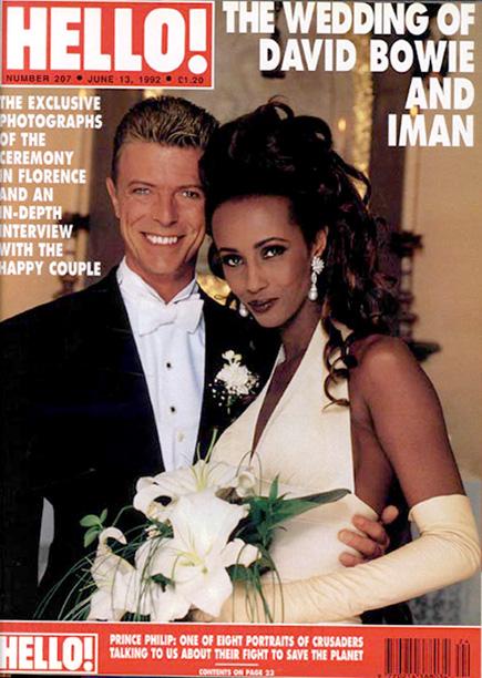Hello Magazine Bowie & Iman 1992