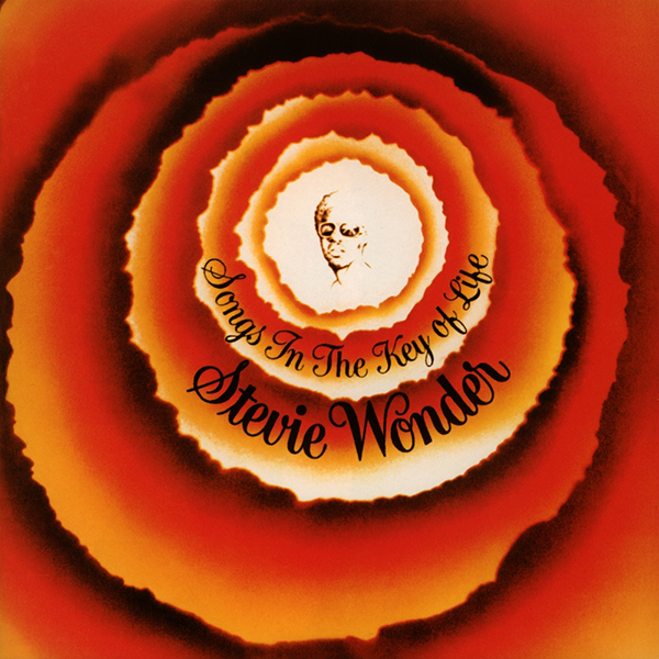 Stevie Wonder 'Songs In The Key Of Life' album cover 1976