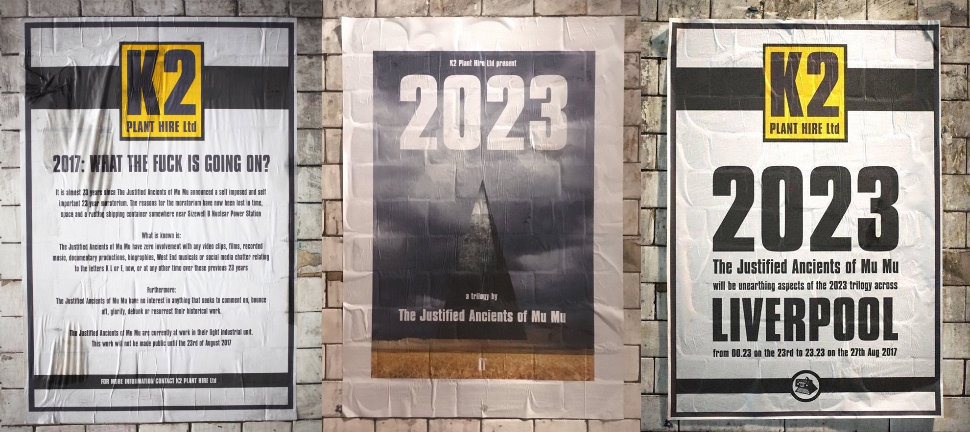 K2 Plant Hire Posters