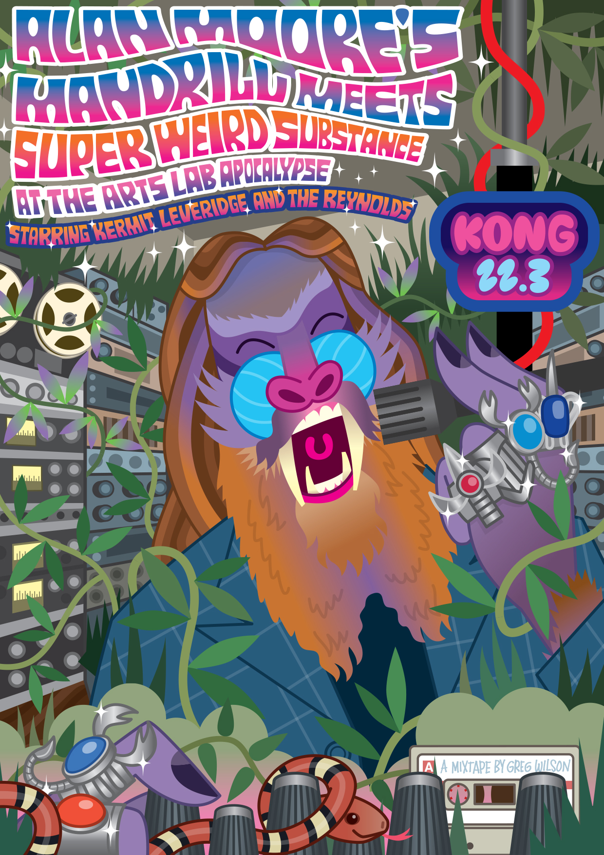 Alan Moore's Mandrill Meets Super Weird Substance At The Arts Lab Apocalypse