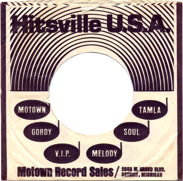Motown Record Sleeve