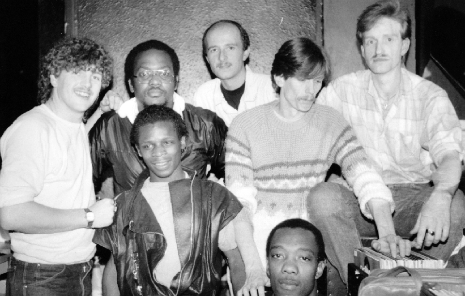 Greg Wilson, Mike Shaft, Cleveland Anderson, Richard Searling, Colin Curtis, Hewan Clarke, Jonathan 1983