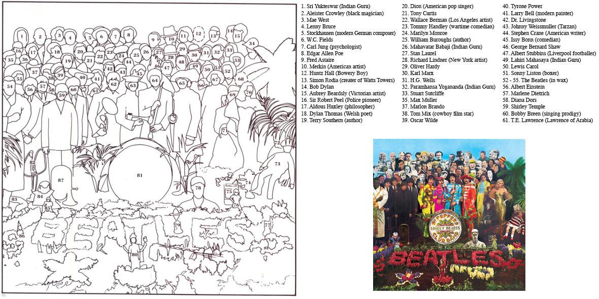Sgt Pepper Grid