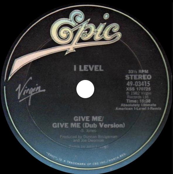 I Level 'Give Me'