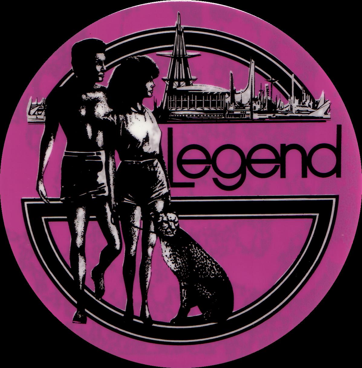 Legend Window sticker
