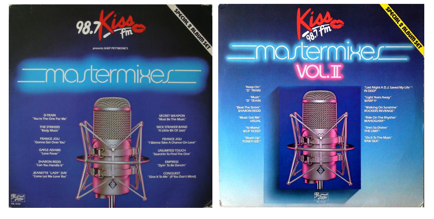 Kiss Mastemixes Vol.1 & 2