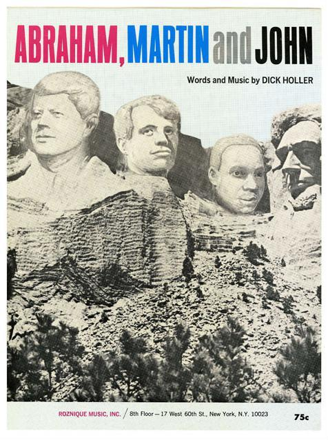 Abraham, Martin and John sheet music