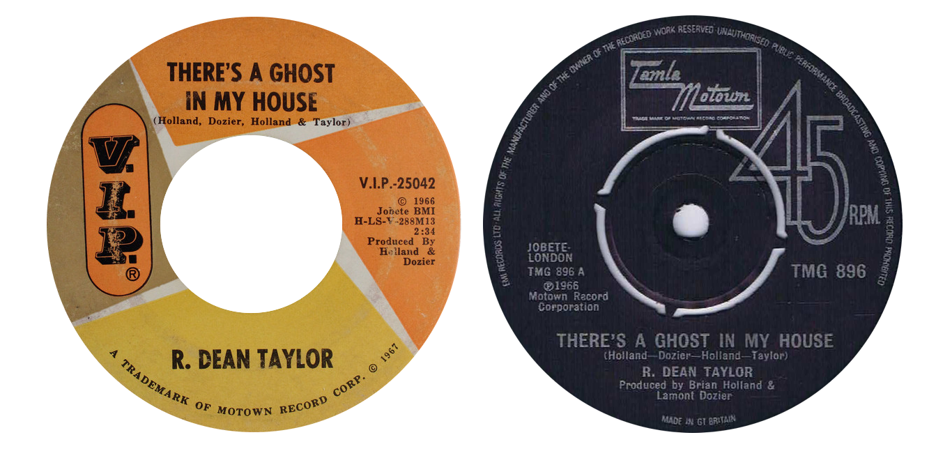 R. Dean Taylor 'There's A Ghost In My House'