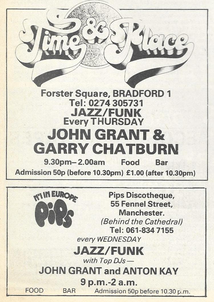 Blues & Soul 305 John Grant Ads