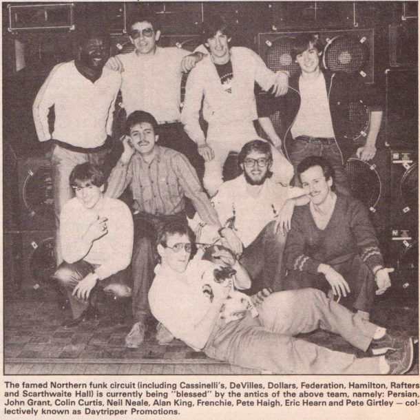 Northern Funk Circuit DJ's 1981
