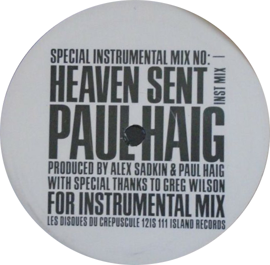 Paul Haig 'Heaven Sent'