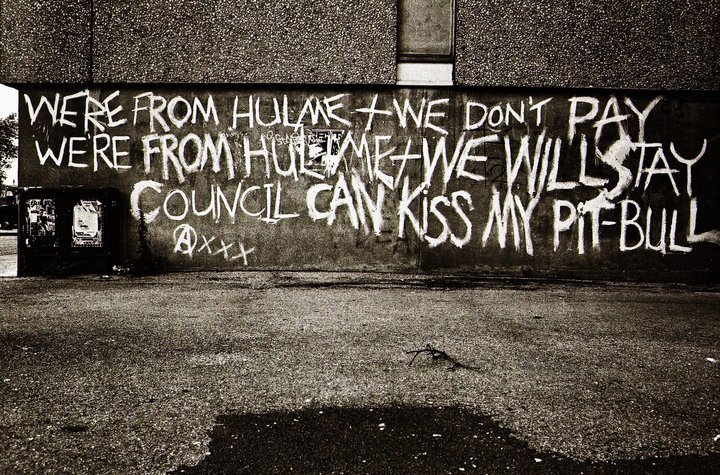We're From Hulme photo by Richard Davis