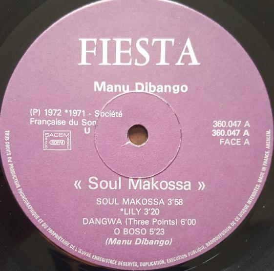 Manu Dibango 'Soul Makossa'