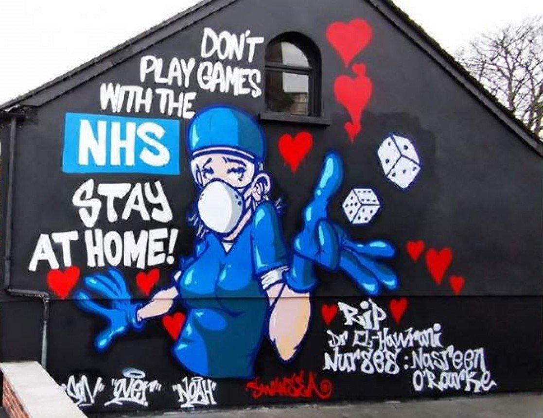 NHS Mural